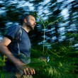 Running for a cache — Stock Photo #72083811