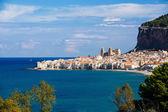City of Cefalu, Sicily, Italy — Stock Photo