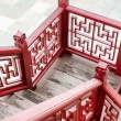 Old fashion Chinese stlye wooden staircase — Stock Photo #72227501