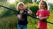 Kiddie Fishing #22 — Stock Photo