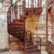 Old Spiral Iron Staircase — Stock Photo #71785745