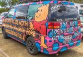 Hippie Van — Stock Photo