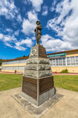 Queenstown Tasmania Memorial — Stock Photo