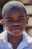 African little boy — Stock Photo