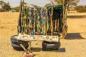 African hut — Stock Photo