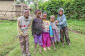 Poor african children — Stock Photo