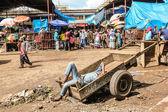 Africa market — Stock Photo