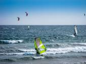 Windsurf and kitesurfing — Stock fotografie