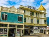 Gold rush town Skagway — Stock Photo