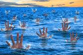 Drowning — Stock Photo