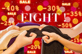Sale Fight — Stock Photo