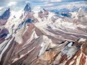 阿拉斯加雪山脉 — 图库照片