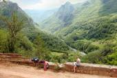 Tara River Canyon Landscape, Montenegro — Stock Photo