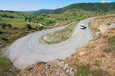Convolutions Road, Montenegro — Stock Photo