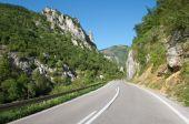Mountain Road In Serbia — Stock Photo