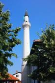 Bílý Minaret v Prijepolje, Srbsko — Stock fotografie