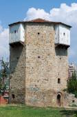 Octagonal Watchtower in Novi Pazar, Serbia — Stock Photo