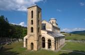 Monastery Sopocani, Serbia — Stok fotoğraf