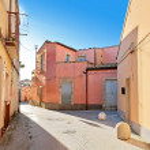 Colorful Street in Palazzolo Acreide, Sicily — Stock Photo #72978635