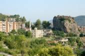 Permet stad i Albanien — Stockfoto