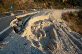 Broken Road  — Stock Photo
