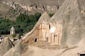 Cave Church in Cappadocia, Turkey — Stock Photo