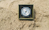 War barometer — Stock Photo