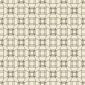 Geometric ornament seamless pattern.  Textile design template seamless background. Round, polygonal and linear motif endless texture. Monochrome  vector illustration. — Stock Vector