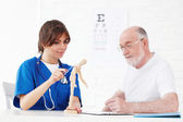 Nurse and doctor — Stock Photo