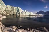 Arktiska vintern i södra Spetsbergen — Stockfoto