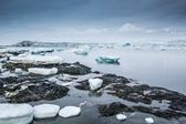 Arctic spring in south Spitsbergen — Stock Photo