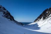 Arktyczny wiosna w południowej Spitsbergen — Zdjęcie stockowe