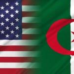 Постер, плакат: USA and Algeria