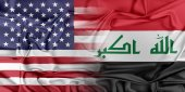 USA and Iraq — Stock Photo