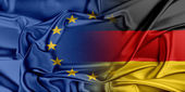 European Union and Germany. — Stock Photo