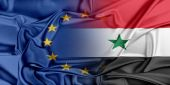 European Union and Syria. — Stock Photo