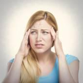 Headache. — Stock Photo