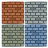 矢量砖墙背景 — 图库矢量图片
