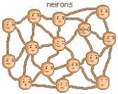 Neuronová síť lidského mozku — Stock vektor