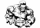 Bodybuilder muskulösa överkropp — Stockfoto