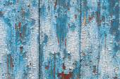 Chipped paint on the door of the old boards background — Stock Photo