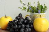 Composition with fruits — Stock Photo