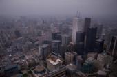 Street view, down town, Toronto, Ontario, Canada — Stock Photo