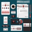 Mock-up creative agency — Stock Vector #72629159