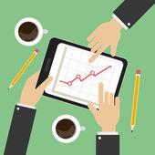 Creative Team Vector Design — Stock Vector