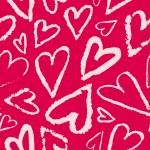 Vector seamless heart pattern. — Stock Vector #72839215
