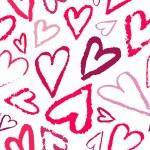 Vector seamless heart pattern. — Stock Vector #72839233