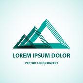 Vector logo concept. — Vector de stock