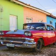 Car in the streets of Trinidad. — Stock Photo #72834605