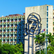 Plaza de la Revolucion with Che Guevara image — Stock Photo #72833651